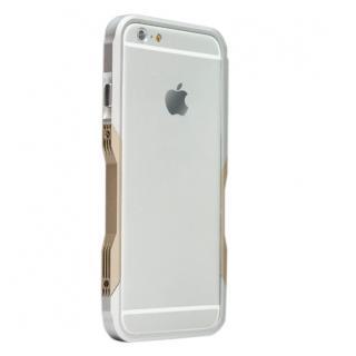 【iPhone6ケース】飽きることのないデザイン GRAVITY CASTRUM シルバー×ゴールド iPhone 6バンパー_1