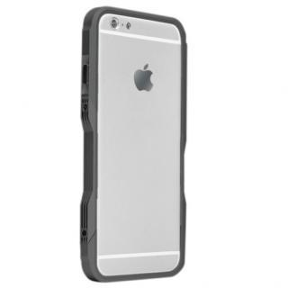 【iPhone6ケース】飽きることのないデザイン GRAVITY CASTRUM ブラック×グレー iPhone 6バンパー_1