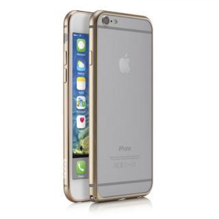 【iPhone6ケース】超軽量7gアルミバンパー ibacks Essence Bumper カメラレンズガード付 ゴールド iPhone 6_1