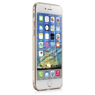 【iPhone6ケース】超軽量7gアルミバンパー ibacks Essence Bumper カメラレンズガード付 ゴールド iPhone 6_2