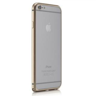 【iPhone6ケース】超軽量7gアルミバンパー ibacks Essence Bumper カメラレンズガード付 ゴールド iPhone 6_3
