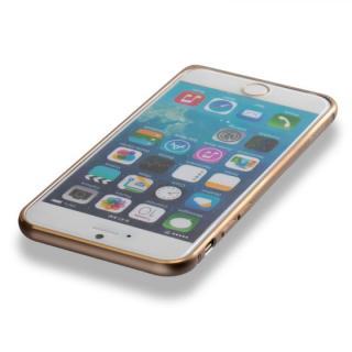 【iPhone6ケース】超軽量7gアルミバンパー ibacks Essence Bumper カメラレンズガード付 ゴールド iPhone 6_4