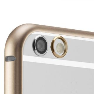 【iPhone6ケース】超軽量7gアルミバンパー ibacks Essence Bumper カメラレンズガード付 ゴールド iPhone 6_5