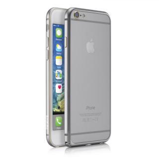 【iPhone6ケース】超軽量7gアルミバンパー ibacks Essence Bumper カメラレンズガード付 シルバー iPhone 6_1
