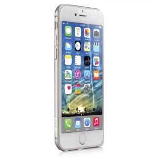【iPhone6ケース】超軽量7gアルミバンパー ibacks Essence Bumper カメラレンズガード付 シルバー iPhone 6_2
