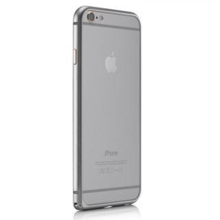 【iPhone6ケース】超軽量7gアルミバンパー ibacks Essence Bumper カメラレンズガード付 シルバー iPhone 6_3