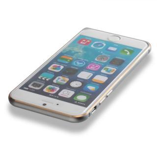 【iPhone6ケース】超軽量7gアルミバンパー ibacks Essence Bumper カメラレンズガード付 シルバー iPhone 6_4