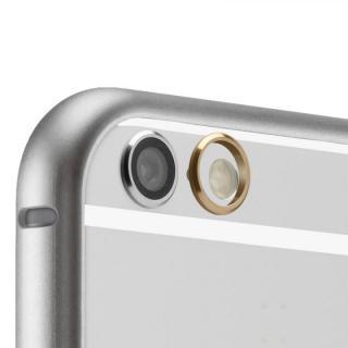 【iPhone6ケース】超軽量7gアルミバンパー ibacks Essence Bumper カメラレンズガード付 シルバー iPhone 6_5