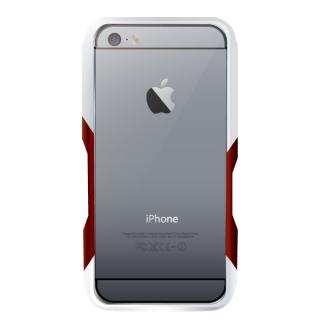 【iPhone6ケース】飽きることのないデザイン GRAVITY CASTRUM シルバー×レッド iPhone 6バンパー_2