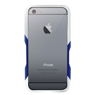 【iPhone6ケース】飽きることのないデザイン GRAVITY CASTRUM シルバー×ブルー iPhone 6バンパー_2