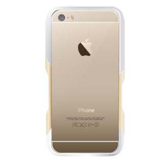 【iPhone6ケース】飽きることのないデザイン GRAVITY CASTRUM シルバー×ゴールド iPhone 6バンパー_2