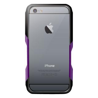 【iPhone6ケース】飽きることのないデザイン GRAVITY CASTRUM ブラック×パープル iPhone 6バンパー_2