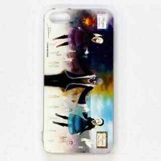 iPhone SE/5s/5 サンホラ ケース Roman