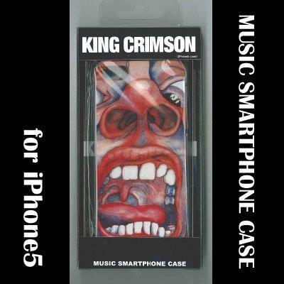 【iPhone SE/5s/5ケース】iPhone SE/5s/5 ミュージックスマートフォンケース クリムゾン・キングの宮殿_0