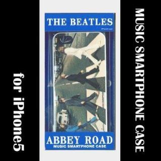 iPhone SE/5s/5 ミュージックスマートフォンケース ABBEY ROAD