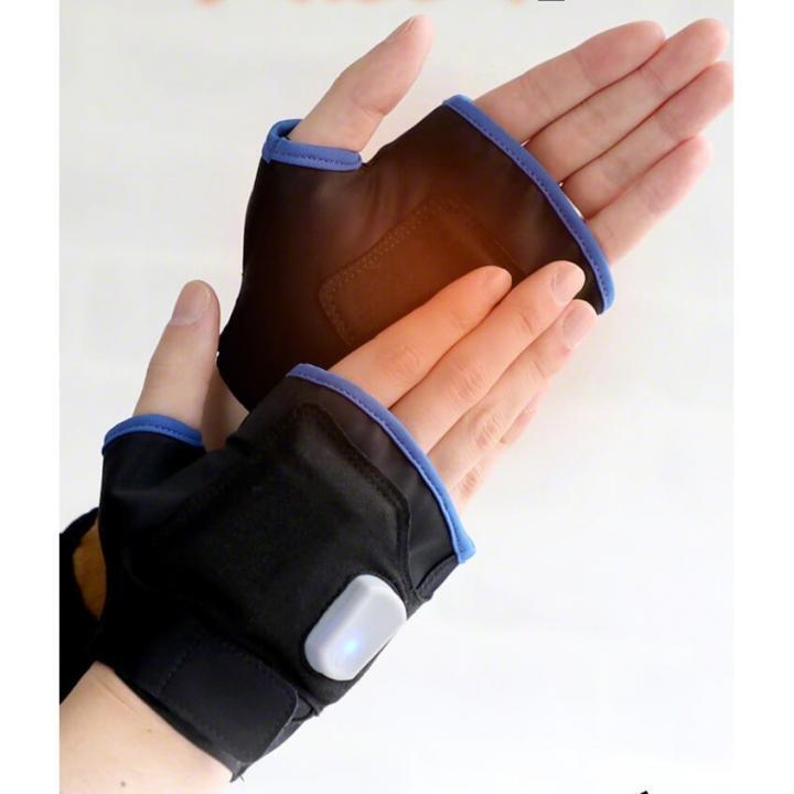 Qurra すぐぬっく USB充電ワイヤレス温熱手袋_0