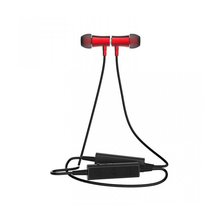 3E Bluetoothイヤホン Mag Ear レッド_0