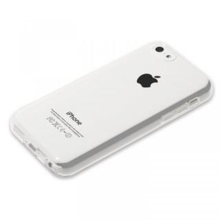 Highend Berryオリジナル クリア ソフトTPU iPhone5cケースストラップホール&保護キャップ付き_1