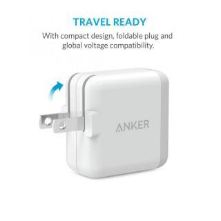 Anker PowerPort 2 Lite 最小サイズ2ポート ホワイト_3