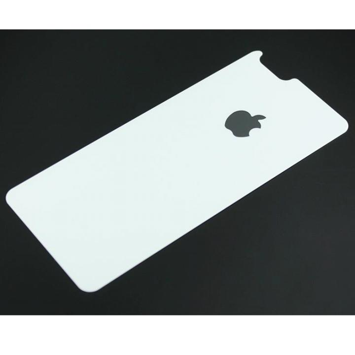 iPhone6s/6 フィルム バックプロテクター for ギルドデザイン製ソリッドバンパー iPhone 6/6s プレーンホワイト_0
