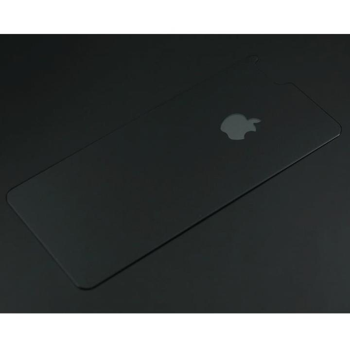 iPhone6s/6 フィルム バックプロテクター for ギルドデザイン製ソリッドバンパー iPhone 6/6s オールブラック_0