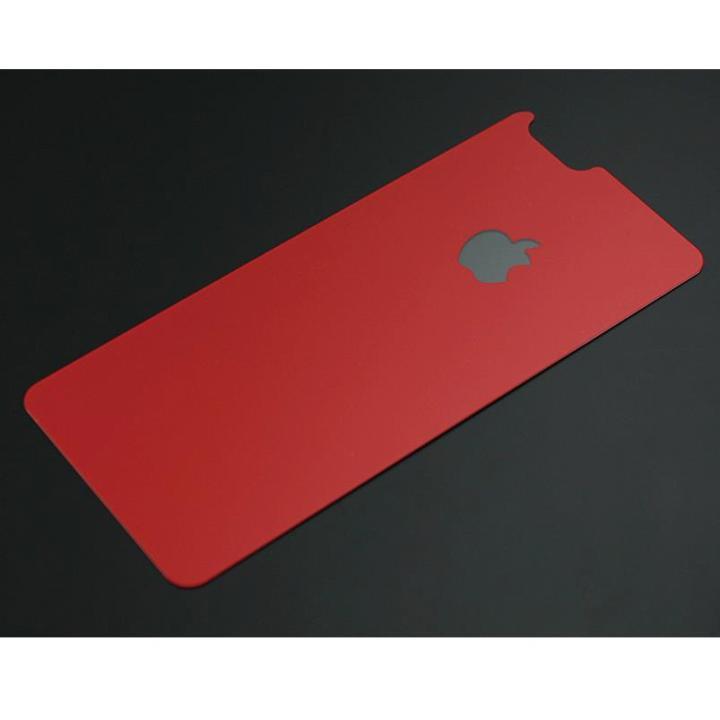 iPhone6s/6 フィルム バックプロテクター for ギルドデザイン製ソリッドバンパー iPhone 6/6s ミカ レッド_0