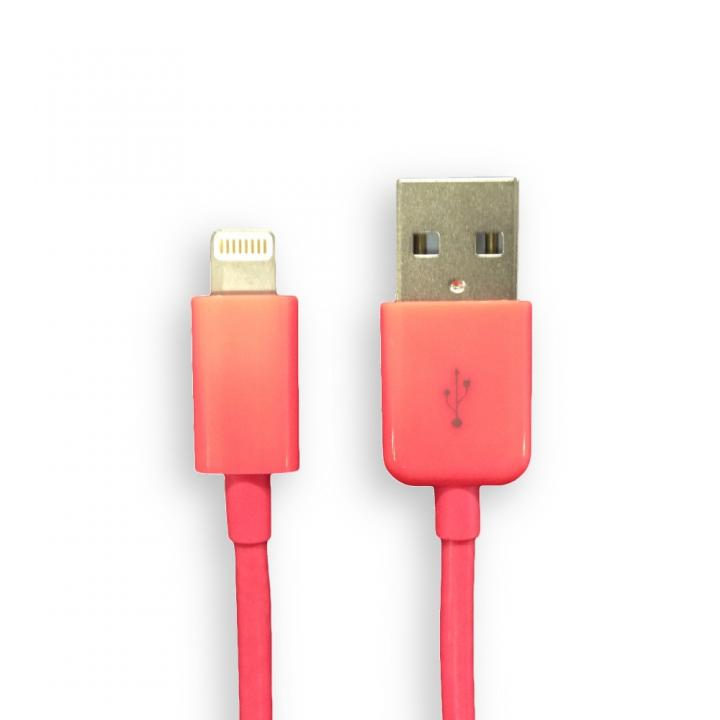 [1.5m] Lightning to USB ケーブル レッド 1.5m_0
