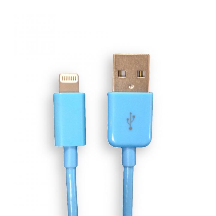 Lightning to USB ケーブル ブルー 1.5m