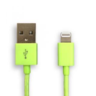 [1.5m] Lightning to USB ケーブル グリーン 1.5m
