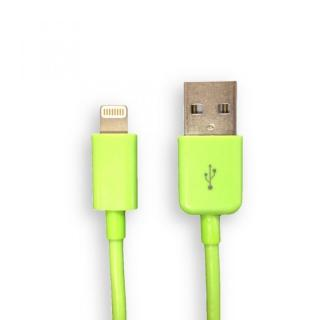 [30cm] Lightning to USB ケーブル グリーン 0.3m