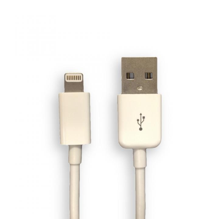 [30cm] Lightning to USB ケーブル ホワイト 0.3m_0