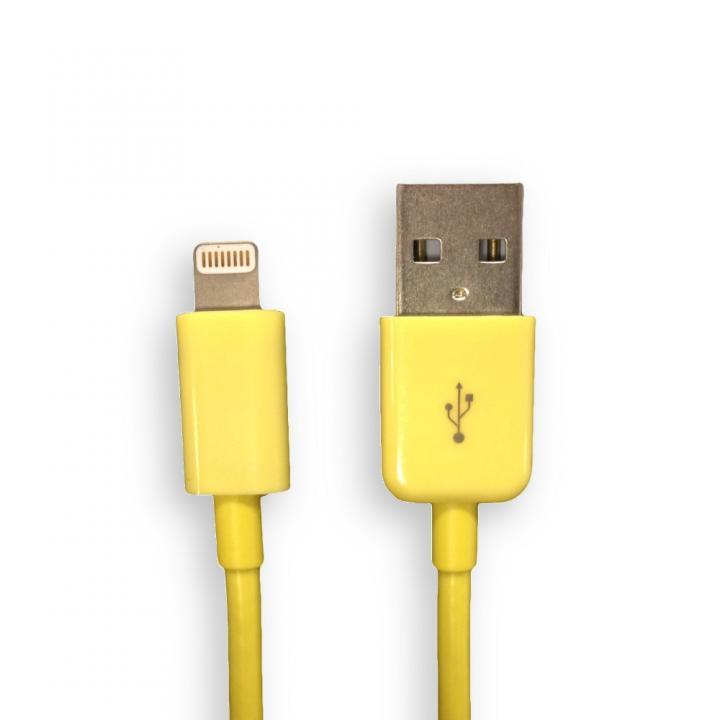 [1.5m] Lightning to USB ケーブル イエロー