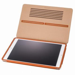 GRAMAS レザー手帳型ケース タン iPad Air 2