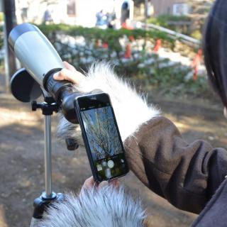 ライブビュー スポッティングスコープ  iPhone 望遠鏡 三脚付_1