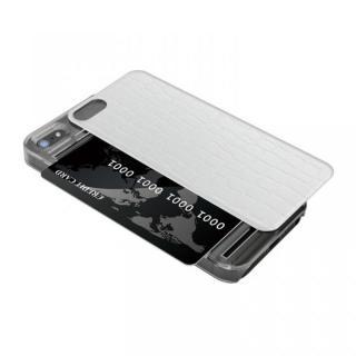IC-COVER レザー調 iPhone SE/5s/5 ホワイト