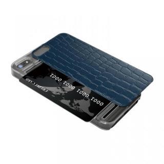IC-COVER レザー調 iPhone SE/5s/5 ブルー