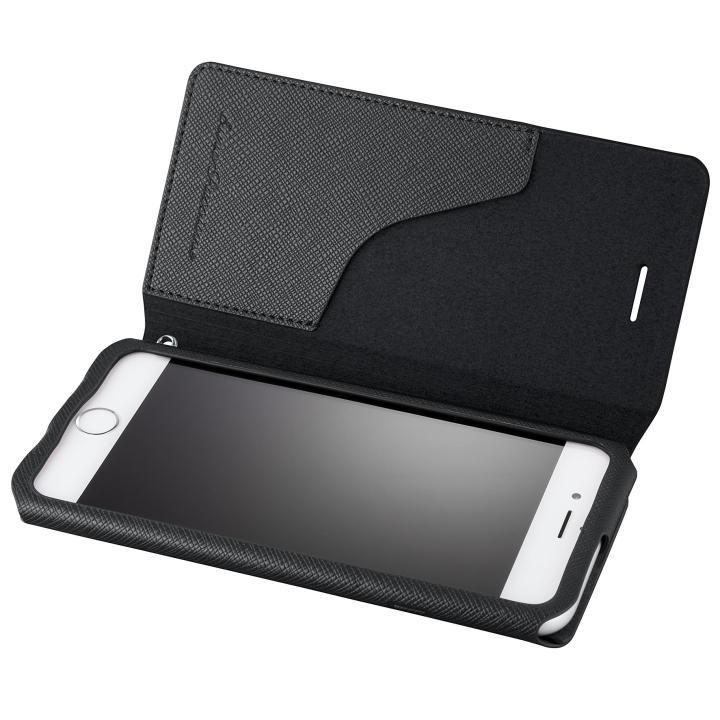 iPhone6s/6 ケース GRAMAS COLORS PUレザーケース EURO Passione ブラック iPhone 6s/6_0