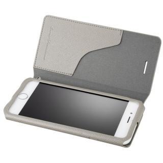 【iPhone6s/6ケース】GRAMAS COLORS PUレザーケース EURO Passione グレイ iPhone 6s/6