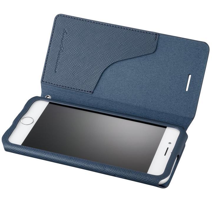 【iPhone6s/6ケース】GRAMAS COLORS PUレザーケース EURO Passione ネイビー iPhone 6s/6_0