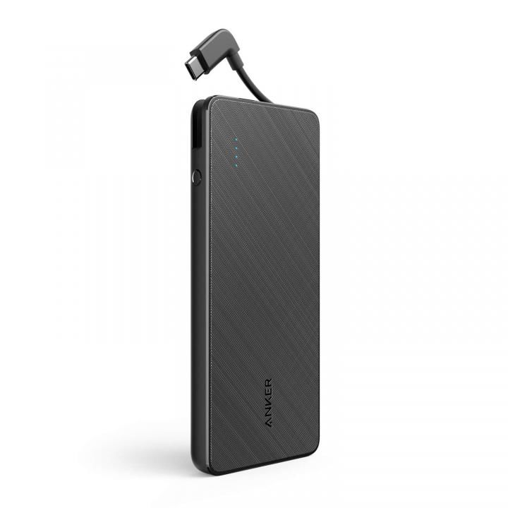 Anker PowerCore+ 10000 with built-in USB-C Cable ブラック_0