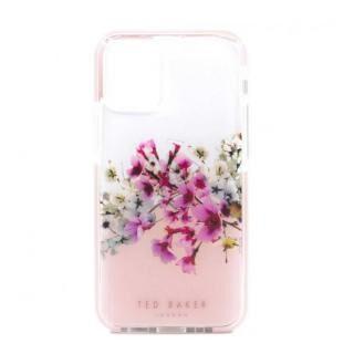 iPhone 12 mini (5.4インチ) ケース Ted Baker Anti-Shock Case Jasmine Clear iPhone 12 mini【3月中旬】
