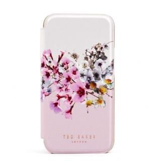 iPhone 12 mini (5.4インチ) ケース Ted Baker Folio Case Jasmine Pink Cream Rose Gold iPhone 12 mini【3月中旬】