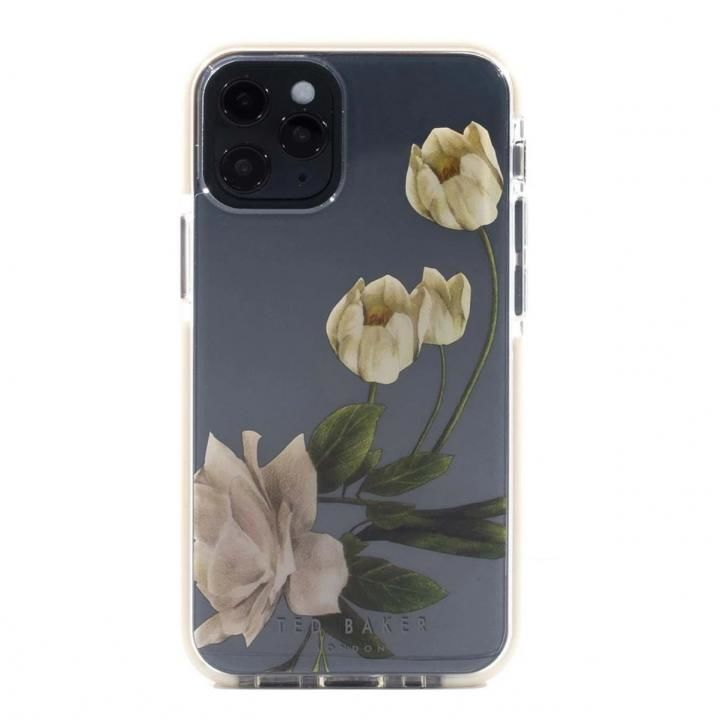 Ted Baker Anti-Shock Case Elderflower Clear iPhone 12/12 Pro_0
