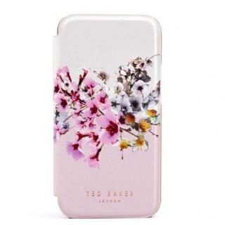 iPhone 12 / iPhone 12 Pro (6.1インチ) ケース Ted Baker Folio Case Jasmine Pink Cream Rose Gold iPhone 12/12 Pro