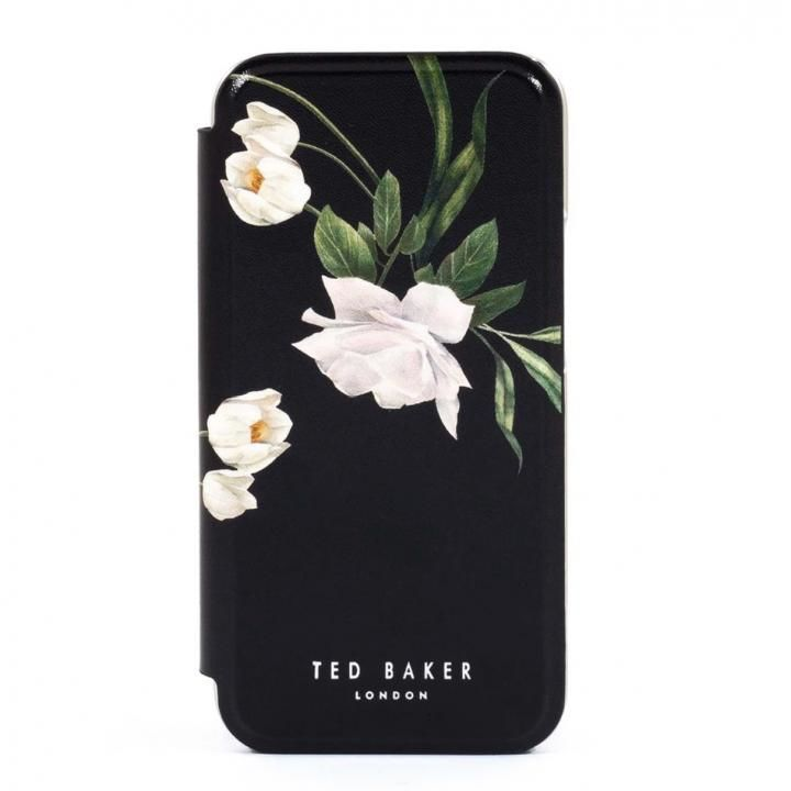 Ted Baker Folio Case Elderflower Black Silver iPhone 12/12 Pro_0