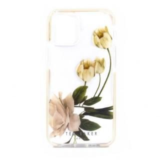 iPhone 12 Pro Max (6.7インチ) ケース Ted Baker Anti-Shock Case Elderflower Clear iPhone 12 Pro Max