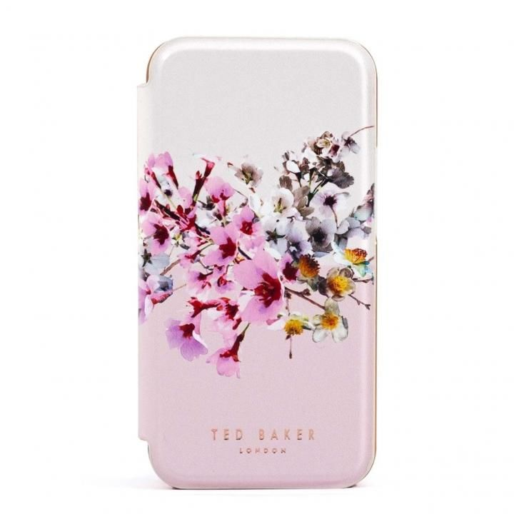 Ted Baker Folio Case Jasmine Pink Cream Rose Gold iPhone 12 Pro Max_0
