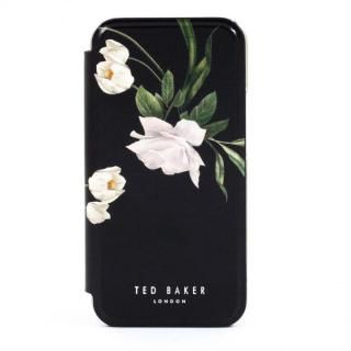 iPhone 12 Pro Max (6.7インチ) ケース Ted Baker Folio Case Elderflower Black Silver iPhone 12 Pro Max