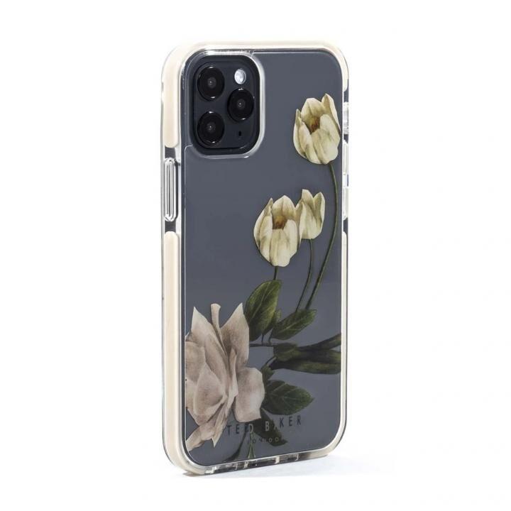 Ted Baker Anti-Shock Case Elderflower Clear iPhone 12 mini_0