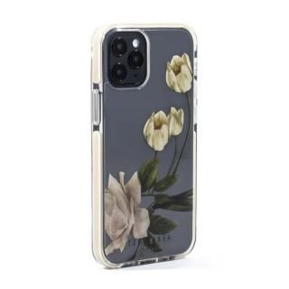 iPhone 12 mini (5.4インチ) ケース Ted Baker Anti-Shock Case Elderflower Clear iPhone 12 mini【3月中旬】